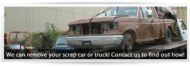 We can remove your scrap car! Find out how!
